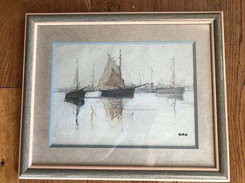 ANTRAL Louis Robert (1895-1939) - Port breton