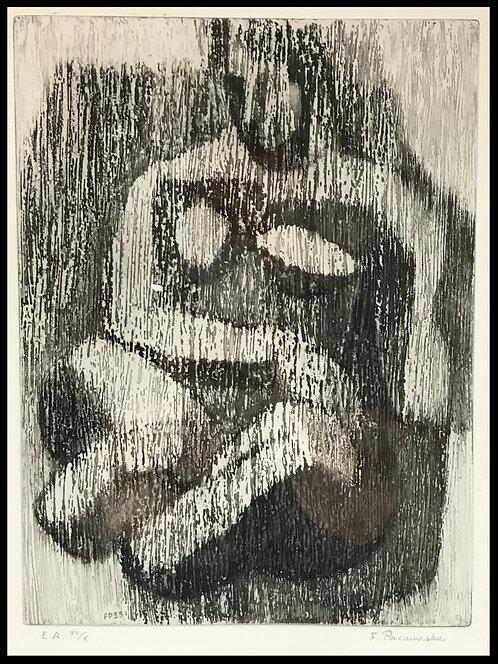 Pacanowska Felicia (1907-2002) - Nu cubiste