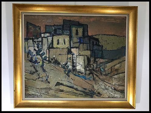 Masui Paul-Auguste (1888-1981) - Village en Espagne