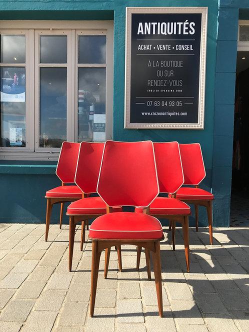 Design Français 6 chaises