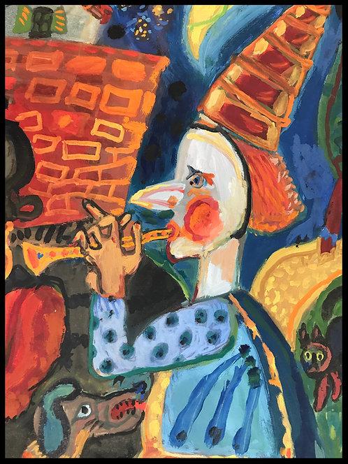 Debieve Michel (1931) - Le cirque