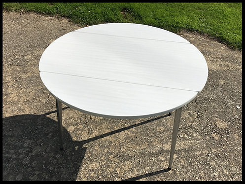 Table circulaire en formica - Années 1960