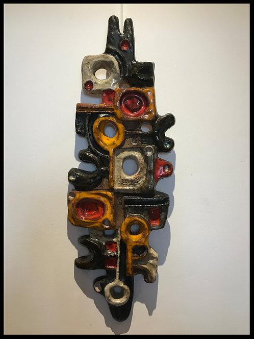 Elizabeth Vandeweghe (1946) - Perignem - Abstraction géométrique