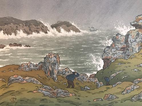 Rivière Henri (1864-1951) - La tempête