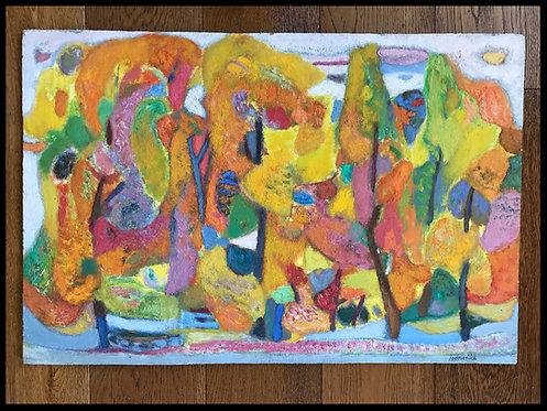 Miloje Todorovitch Forêt Colorée