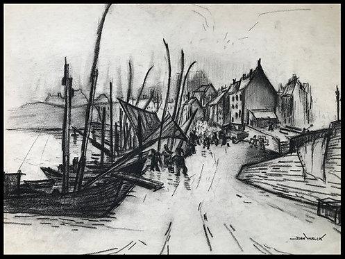 Dan Walck Sur Le Port