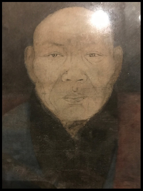 Chine Indochine Mandarin ou Lettré