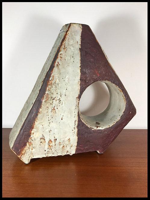 Helmut Schaffenacker (1921-2010) - Vase en grès