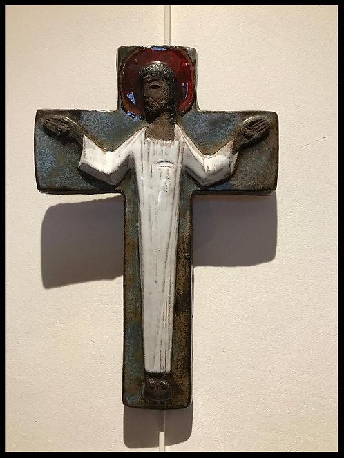 Amphora Belgique Crucifix 1950
