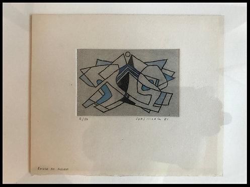 Morin Jorj (1909-1995) - Boule de Neige