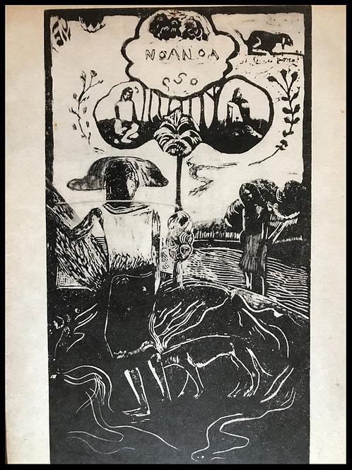 Gauguin Paul (1850-1904) - Noa Noa - Rare Fac-similé de 1954