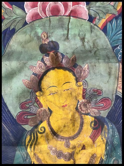 Tanka ou Thangka - Tibet XIX
