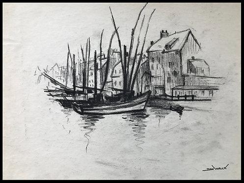Dan Walck Barques à quai