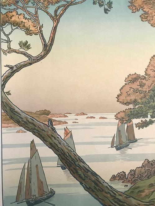 Rivière Henri (1864-1951) - Soir d'été