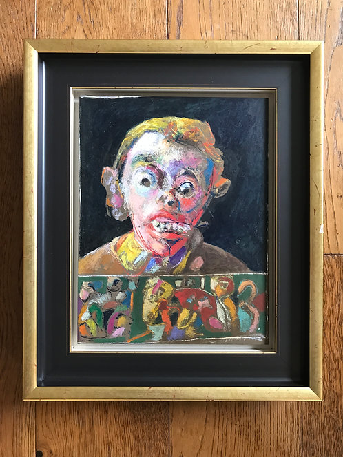Jean Tirilly portrait art Brut