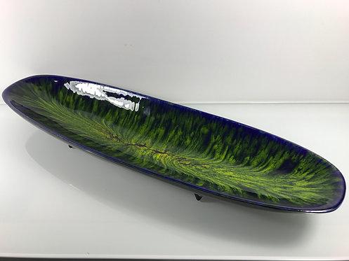 Sanchez F. - Longue et large coupe emaux bleus / verts