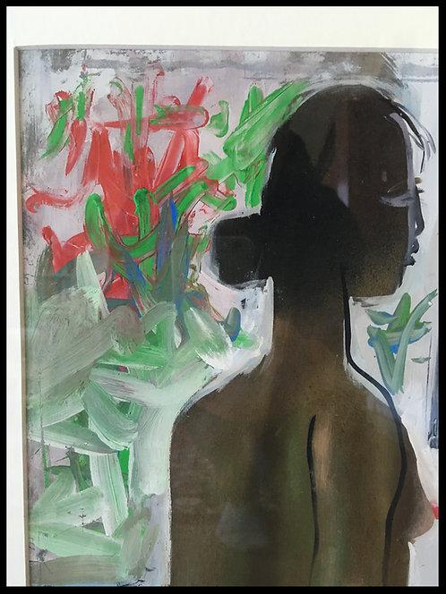 Nguyen Dinh Dung Femme au miroir