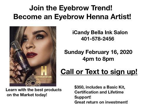 Eyebrow Trend Class