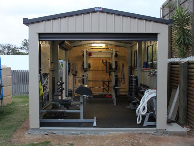 Steel Building Gym