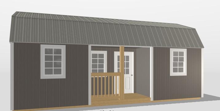 Recessed Center Barn
