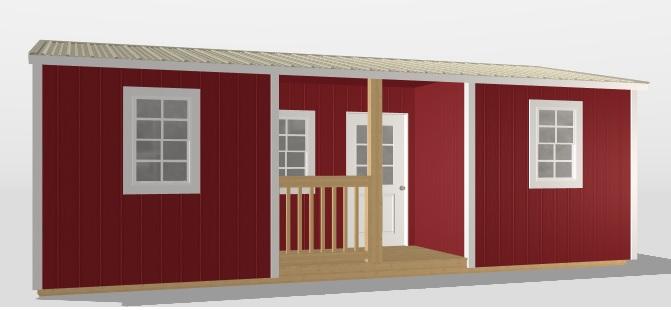 Recessed Cabin
