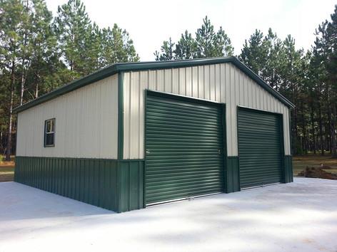24x31x10 Deluxe Siding Garage