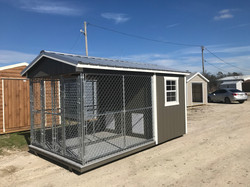 8x14 Double Dog Kennel