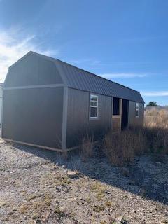 12X32 Center Recessed Porch
