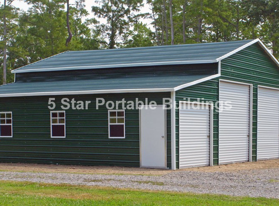 48x36x12 Barn Horizontal Roof