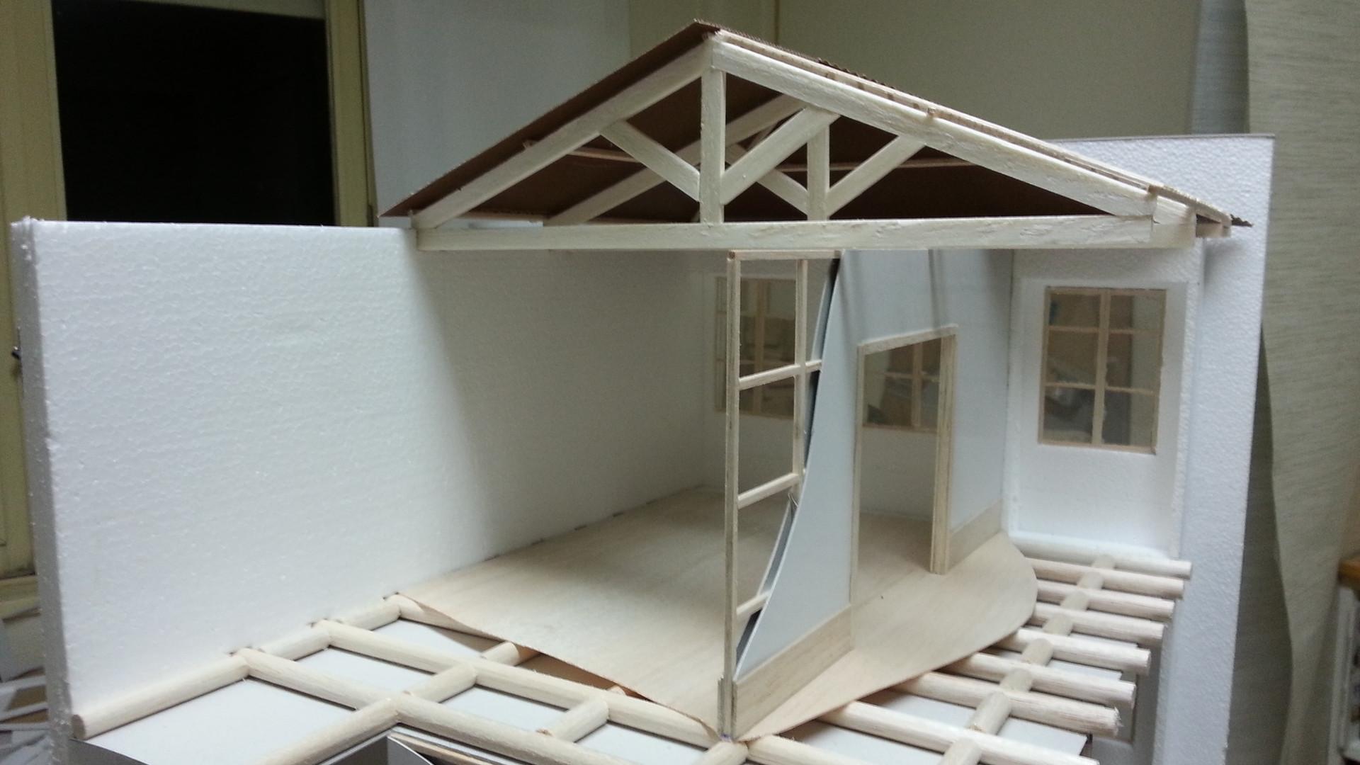 Maquete Construção Tradicional
