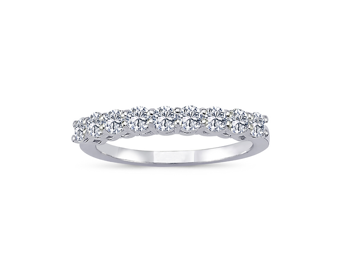 Half Eternity Diamond Engagement Ring