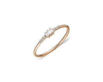 Multi Baguette Diamond Ring