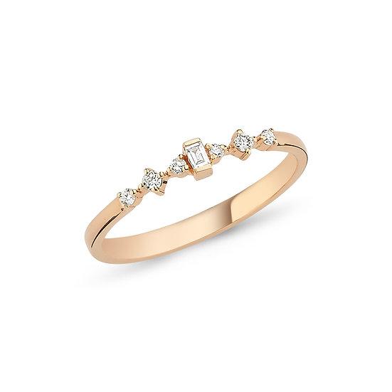 Minimalist Multi Diamond Necklace