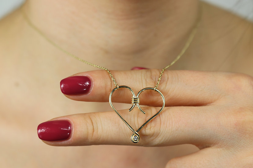 Open Heart Pendant
