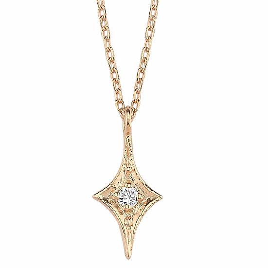 North Star Pendant Diamond Necklace