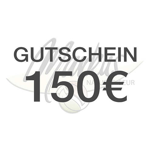Wertgutschein über 150€