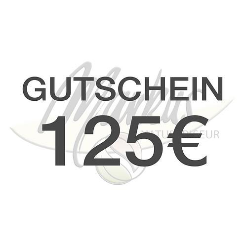 Wertgutschein über 125€