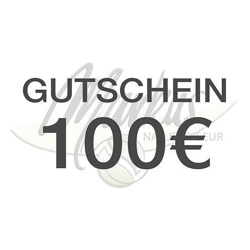Wertgutschein über 100€