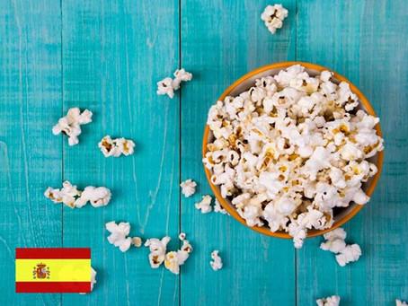 Mejora tu español comiendo palomitas