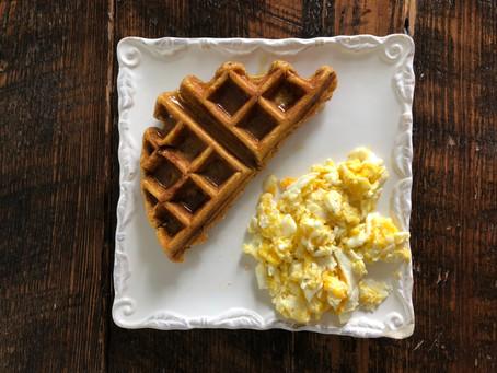Pumpkin Waffle Perfection (GF, Low FODMAP)