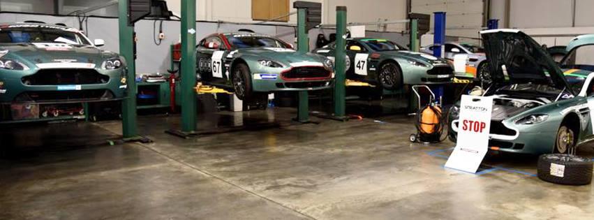 Aston Martin GT4 Preparation