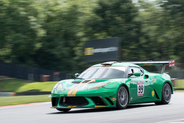 Lotus Evora GT4e