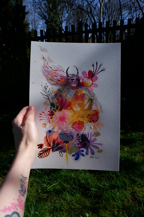 """Flower Demon"""