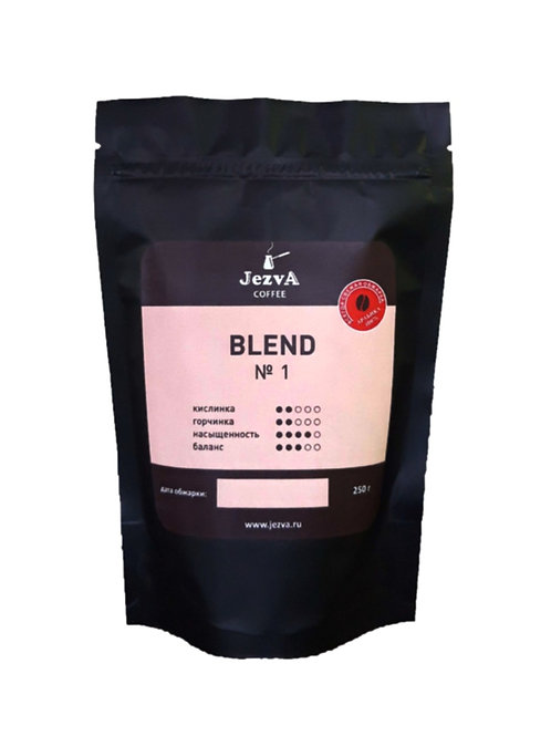 """""""JEZVA BLEND #1""""   Смесь четырех видов Арабики. Создан для """"кофе в джезве""""."""