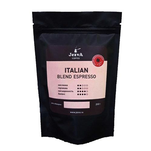 ITALIAN ESPRESSO BLEND Итальянская смесь для эспрессо из четырех видов Арабики.