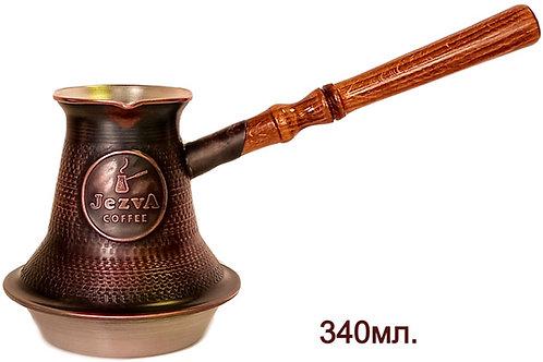 Для индукционных плит. Армянская медная джезва ручной работы.