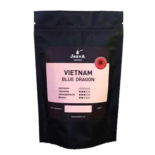 VIETNAM BLUE DRAGON Вьетнамская Робуста, крепкий, насыщенный кофе с горчинкой