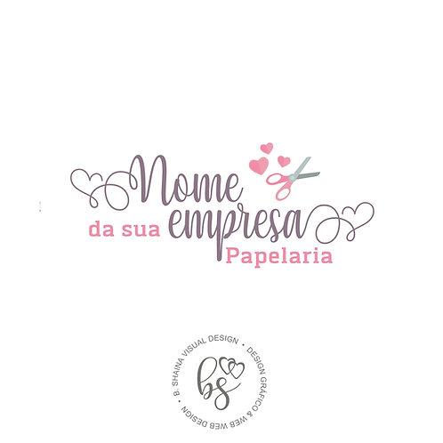 Logotipo Exclusivo Papelaria