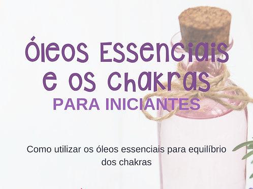 E-book Óleos Essenciais e os Chakras