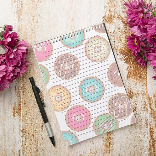 Miolo Digital Bloco de Anotações Donuts